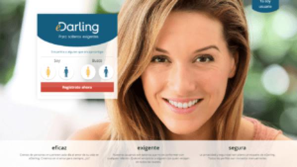 Landing page de Edarling