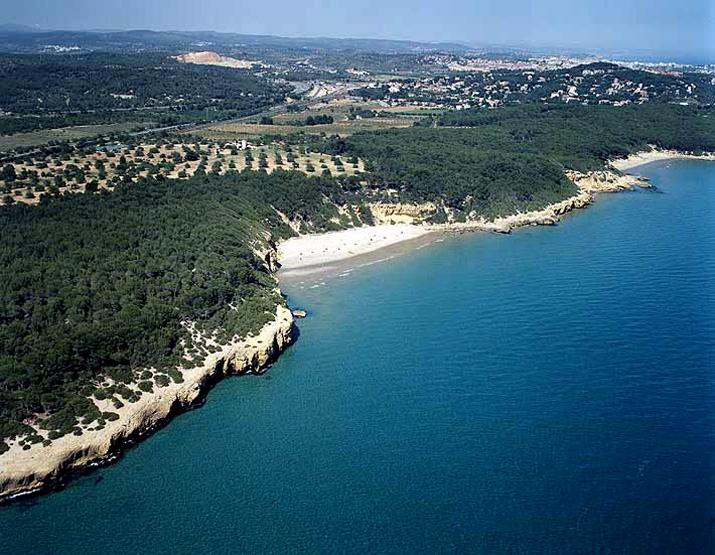 playa fondo of waikiki in Tarragona