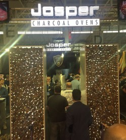 Josper Charcoal Oven Stand at Alimentaria Food and Drink Fair