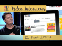 Brian of Barcelona BBQ Interviews with El Punt Avui and Marcela Topor