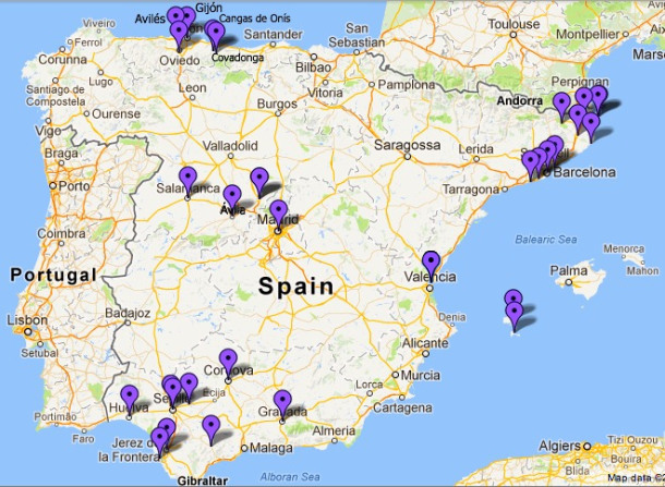 Traveling Spain Barcelona Blonde – Where I Ve Been Travel Map