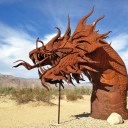 Dancing With Dragons in the California Desert