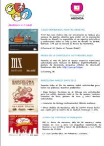 Agenda julio Barcelona Colours