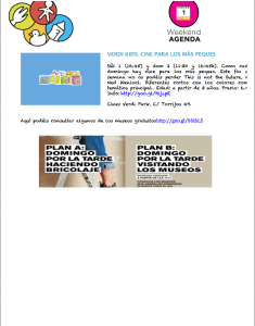 Agenda carnaval 2013