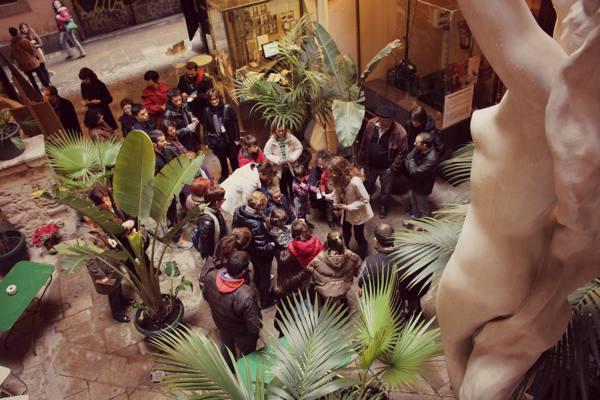 Taller infantil Museu Europeu d'Art  Modern