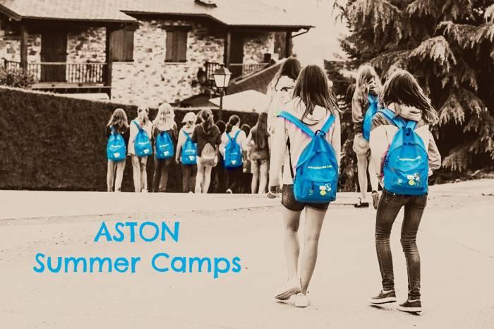 Aston, campamentos de verano en la Cerdanya y Mallorca.