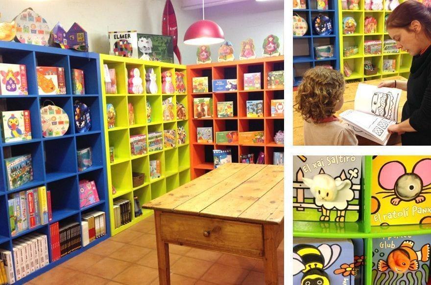Librería infantil y para adultos La Caixa d'eines-