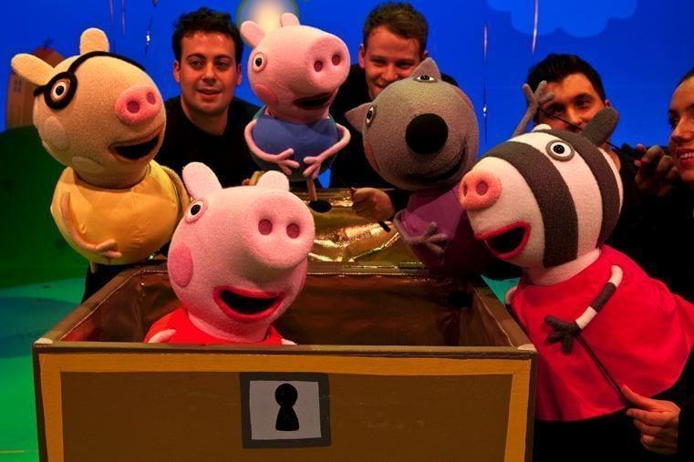 Sorteo entradas Peppa Pig
