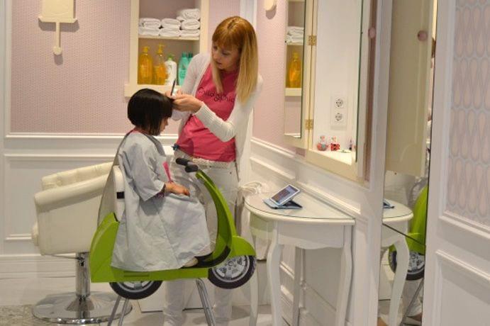 Peluquerías infantiles en Barcelona