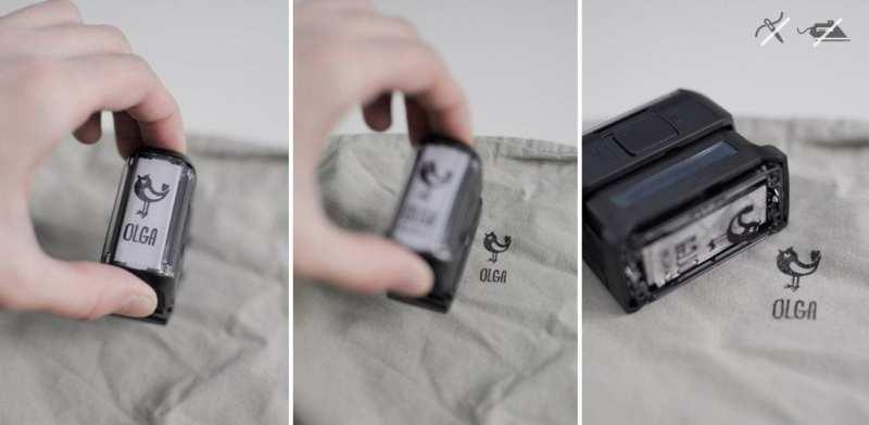 Sellos para marcar la ropa