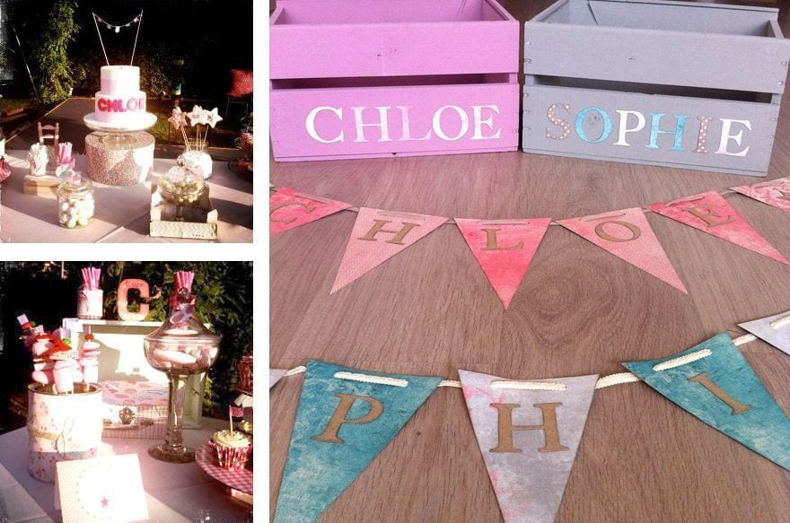 Letras de madera para decorar habitaciones infantiles