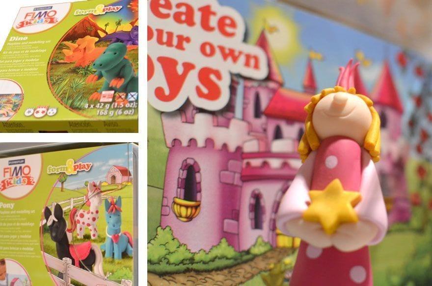 Fimo Kids, para divertirte y modelar figuritas