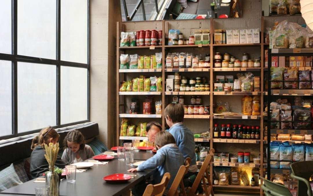 Restaurante Woki Organic Market Marimón
