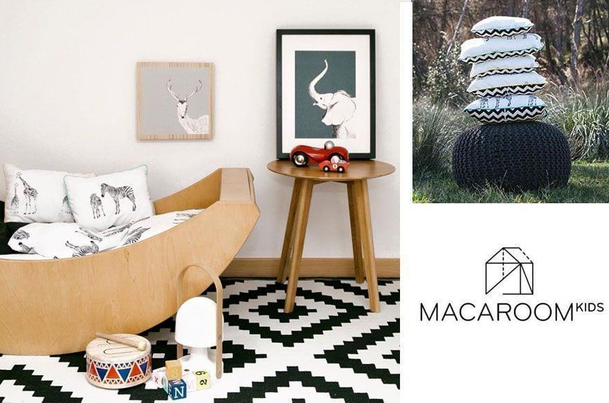 Macaroom Kids, decoración infantil para peques modernos