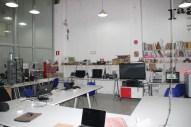 Interior del Fab Lab Barcelona.