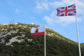 uk gibraltar flags
