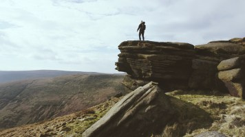 The magical views of the Peak District