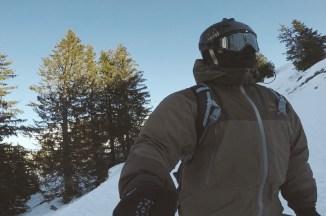 Spring skiing in France