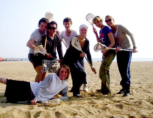 Barcelona Lacrosse @ Beach 2006