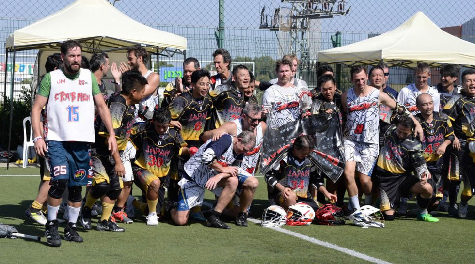 Barcelona Lacrosse with team Japan