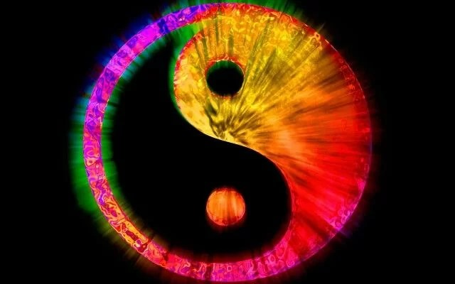 COLORES YIN COLORES YANG