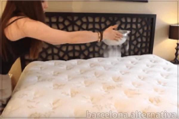 elimina los ácaros de tu colchón con bicarbonato