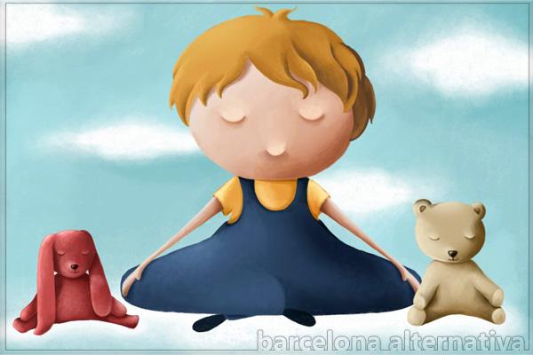 La meditación ayuda contra el estres escolar