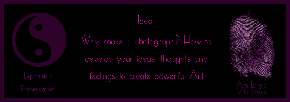 Holistic Photography Idea Fine Art Photography Coaching