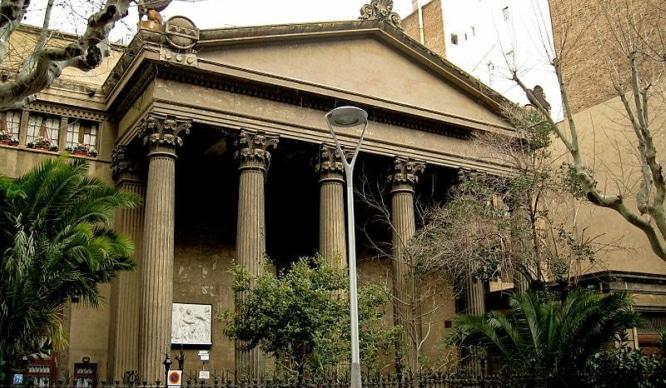 templo romano de l'Eixample