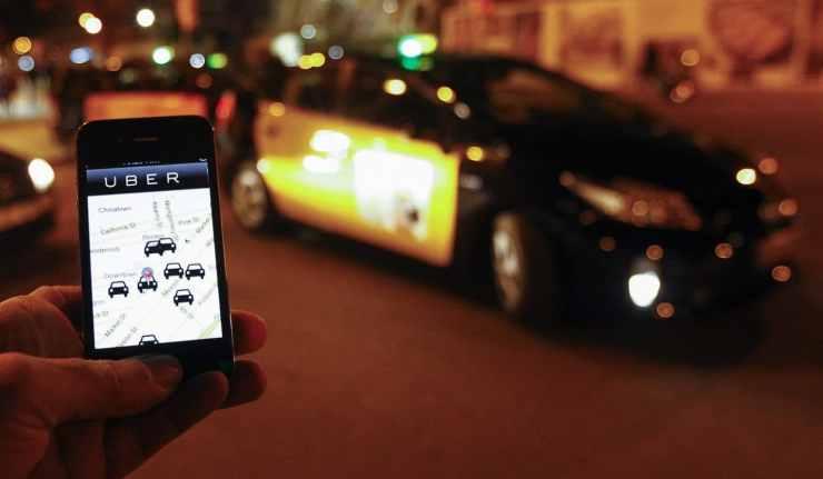 Uber en Barcelona