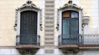 balcón cerrado