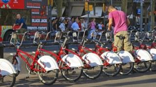 huelga de Bicing