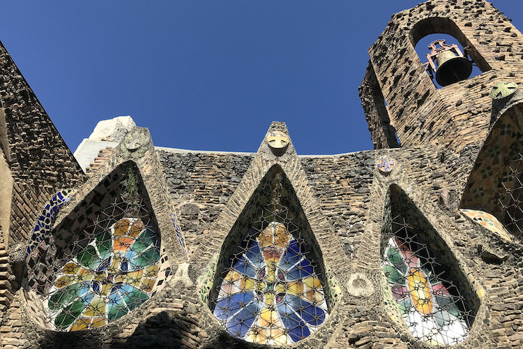 Crypte guell colonia guell