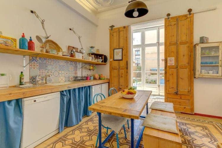 Gezamenlijke ruimte Factory Suites Barcelona