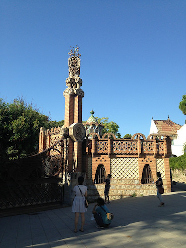 Finca Güell Pabellones Barcelona Gaudí