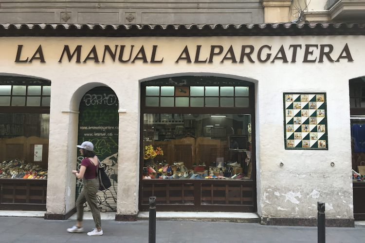 manual alpargatera