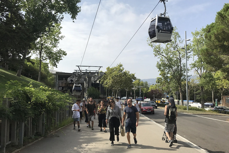 Bezoek de Montjuïc in Barcelona