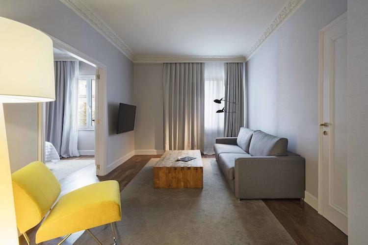 Kamer in hotel Le Meridién in Barcelona