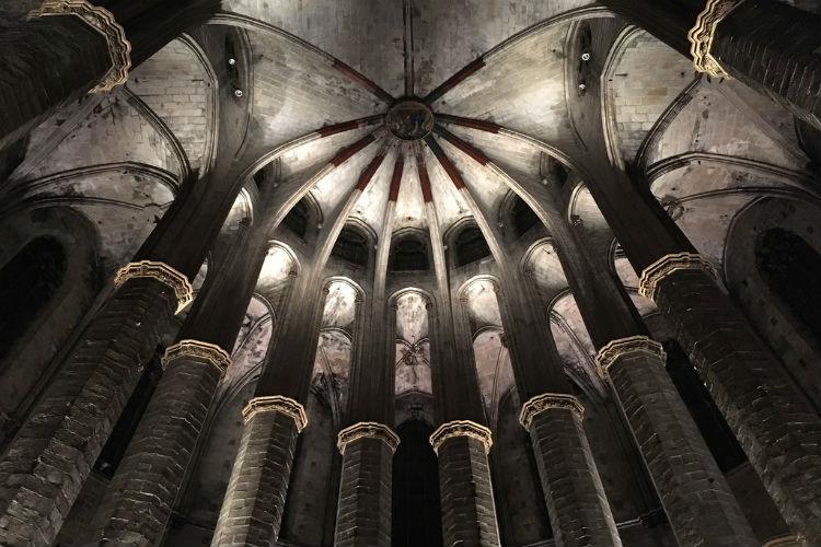 Interieur Santa María del Mar
