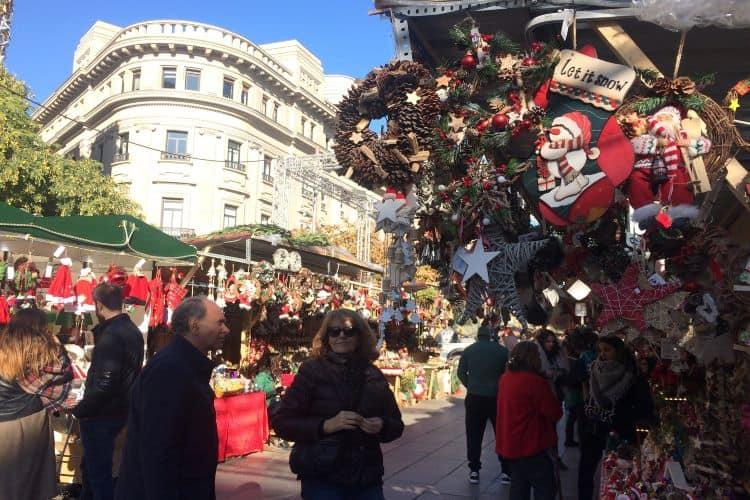 Foto kerstmarkt Santa Lucia