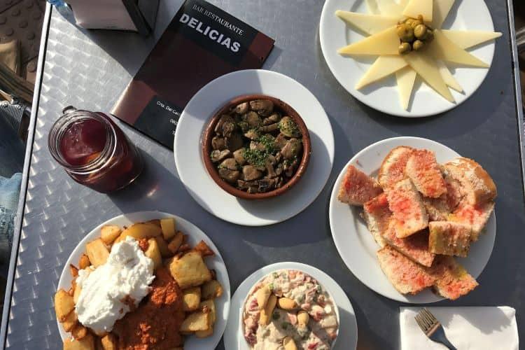 Tapas restaurant Delicias