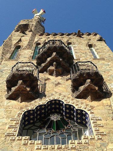 Torre Bellesguard Barcelona modernisme Gaudí