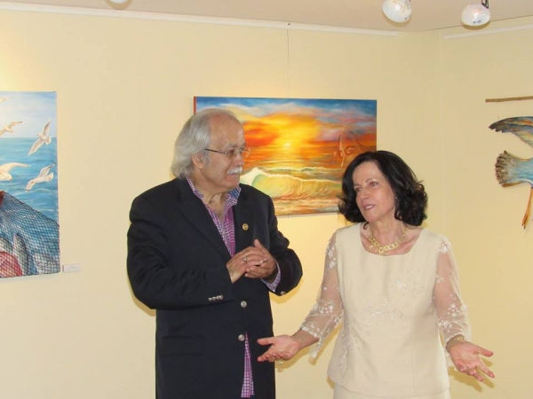 Vítor Pinho e Fátima Miranda
