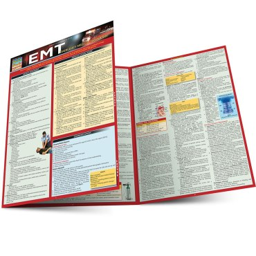 Quick Study QuickStudy EMT - Emergency Medical Technician Laminated Study Guide BarCharts Publishing Main Image