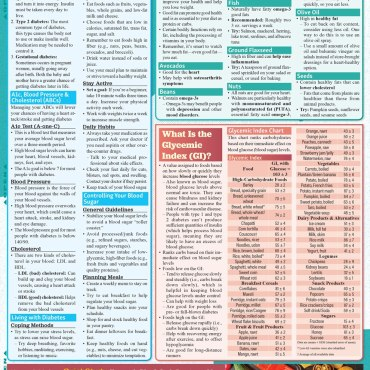 Quick Study QuickStudy Low Carb Lifestyle Laminated Reference Guide BarCharts Publishing Health & Lifestyle Reference Back Image