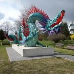 A Fradi-sastól a kínai sárkányig, Atlantától Kazincbarcikáig – Szőke Gábor Miklós szobrai