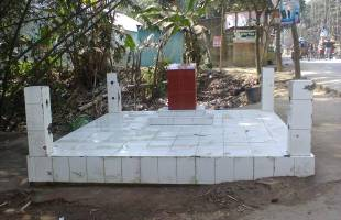 মানিকগঞ্জ জেলার প্রথম স্মৃতির মিনার