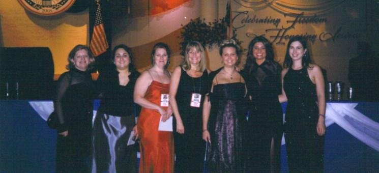 Felicia In Presidential Inauguration Team