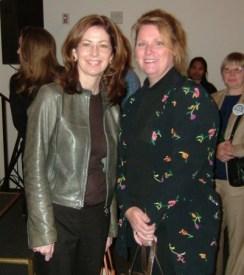 Felicia Barlow Clar With Dana Delaney