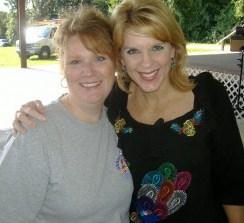 Felicia Barlow Clar With Holly Morris at Fox WTTG Annapalooza